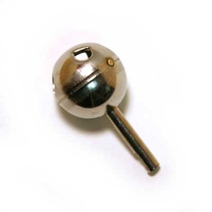 Delta single lever round shaft stainless steel ball
