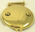Picture of Universal polished brass plate-3008